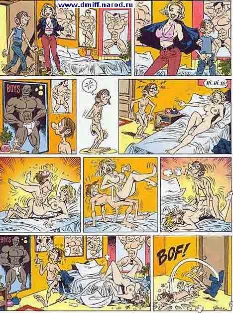 комиксы xxx аниме